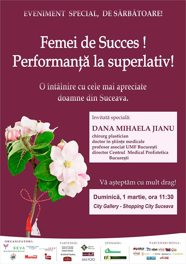 """""""Femei de succes! Performanţă la superlativ"""""""