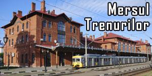 Mersul trenurilor de călători