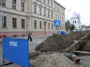 Veşti proaste: Alte şase străzi din Suceava, închise, din cauza lucrărilor
