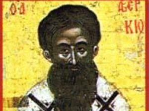 Sinaxar: Sfântul Averchie - făcătorul de minuni