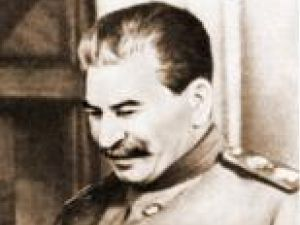 Poza lui Stalin era sfântă