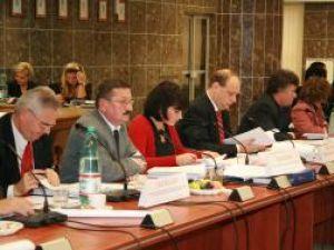 Consilierii PSD s-au prezentat la şedinţă cu banderole albe la braţ