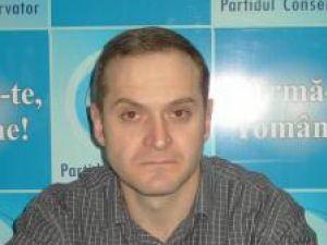 Ovidiu Ilisei, noul preşedinte al Organizaţiei Municipale Suceava a Partidului Conservator