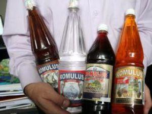 Sticle de alcool, timbrate necorespunzător