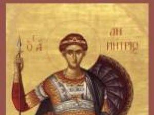 Sfântul zilei: Sfântul Dumitru - izvoditorul de mir