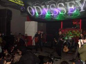 """""""Odyssey"""", la lansarea albumului """"Piatra de hotar"""""""
