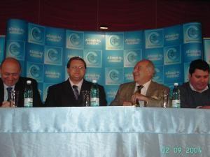 Preşedintele Partidului Conservator, Dan Voiculescu, s-a aflat ieri la Suceava