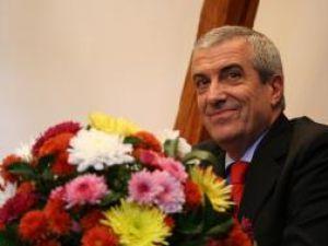 Călin Popescu Tăriceanu a primit, ieri, titlul de cetăţean de onoare al municipiului Sibiu