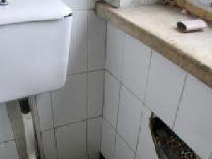 În toaletele Spitalul Judeţean, mizerie de nedescris