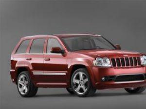 Lansare: Jeep Grand Cherokee SRT 8, adrenalină pură