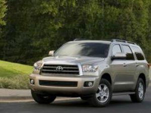 Debut: Toyota Sequoia mare şi tare