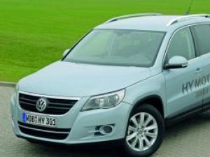 Ecologic: Volkswagen Tiguan HyMotion ediţie hidrogenată