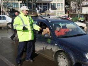 Şoferii fără centuri de siguranţă, amendaţi