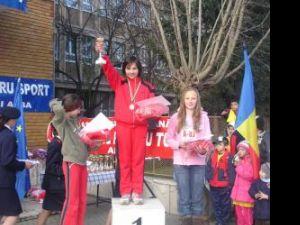 Cornelia Puşcaşu a ocupat primul loc la categoria sub 11 ani