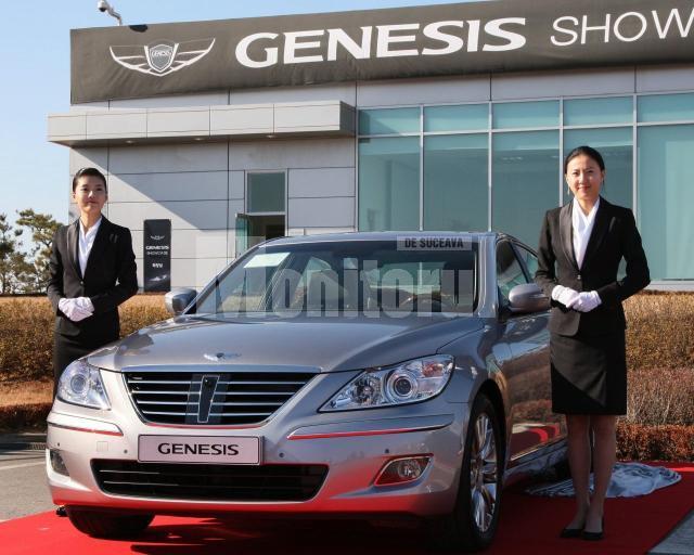 Eveniment: Hyundai trece pe lux cu Genesis
