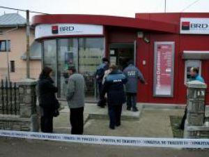 Agenţia BRD de la Dumbrăveni a fost spartă de hoţi