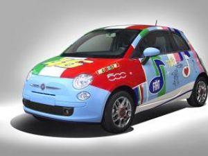 Inedit: Fiat 500 dedicat lui Valentino Rossi