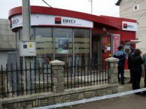 Ca şi în cazul de la Dumbrăveni, spărgătorii nu s-au atins de bancomat