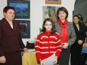 Roxana Fediuc, câştigătoarea Marelui Premiu pe ţară