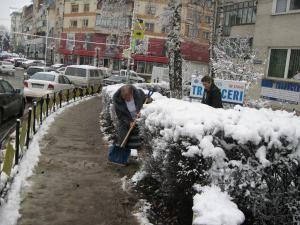 Iarna în Suceava