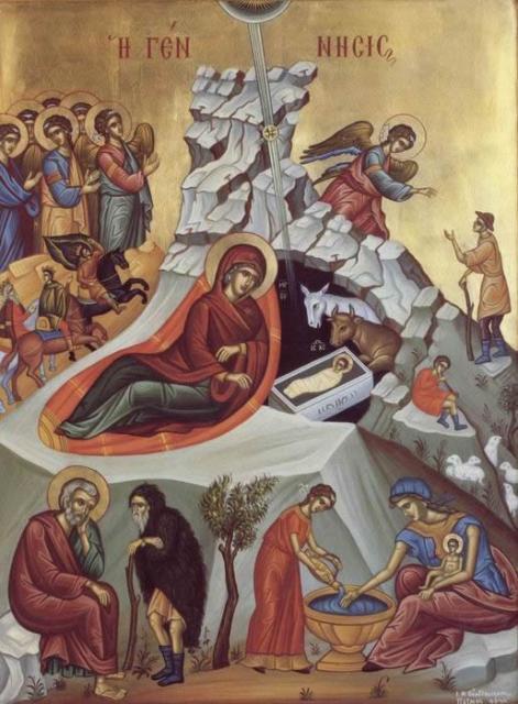 Lecţia de religie: Naşterea Domnului - Bucuria răscumpărării noastre