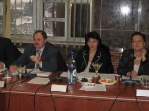 Niculai Barbă, Monica Săndulescu şi Cristina Iordăchel, iniţiatorii proiectului