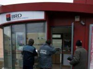 BRD Dumbrăveni, prima agenţie vizată de hoţi