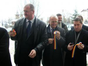 Inaugurarea noului Compartiment de Primire Urgenţă din cadrul Spitalului municipal Rădăuţi