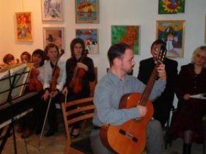 Concert şi o expoziţie de Crăciun