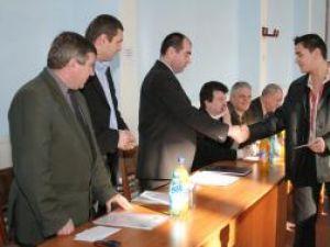 Dan George Rotari, ocupantul poziţiei a treia în clasamentul CSM Suceava