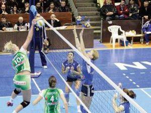 Volei feminin: Trei echipe româneşti s-au calificat în optimile Challenge Cup