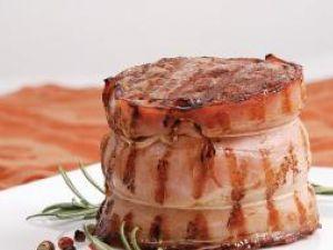 Medalion în bacon