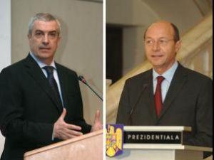 Băsescu şi Tăriceanu au fost în 2007 pe contre