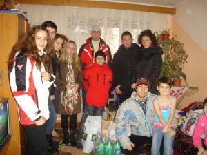 Clubul Leo la familia Doiniţa Gaza