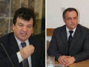 Lucian Lungu şi Virginel Iordache, doi directori generali