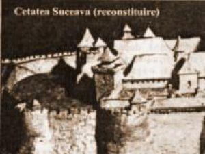 Cetatea de Scaun a Sucevei - reconstituire