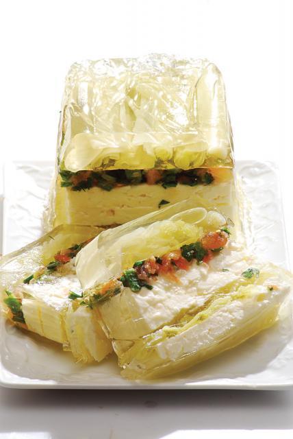 Terină de praz cu brânză