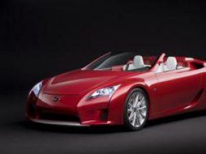 Lexus LF-A, roadster divin