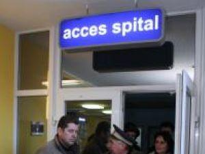 S-a restricţionat accesului vizitatorilor în incintă Spitalului Judeţean