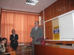 Directorul Colegiului de Informatică, Lucian Lungu