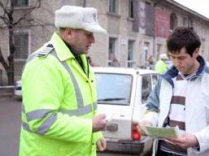 Atenţie, şoferi!: Poliţiştii care îi vânează pe şoferii fără centuri au împânzit toată Suceava