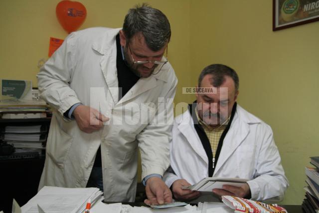 Medicul Gheorghe Niţă şi electronistul Ilie Rotundu sunt prieteni şi asociaţi din primii ani de după 1990