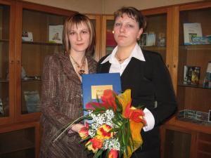 Reprezentantul Primăriei Suceava şi Monica Loredana Curcă