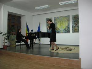 Explic foto: Ada Mocanu a câştigat marele premiu la Concursul Cel mai bun interpret in 2007