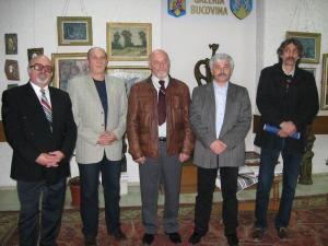 Grigore Micu, George Ostafi, Ioan Bodnar, Iosif Csukat şi Iulian Dziubinschi