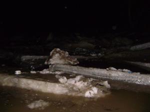 Din cauza acumulărilor de gheaţă au fost inundate cinci case şi 20 de gospodării