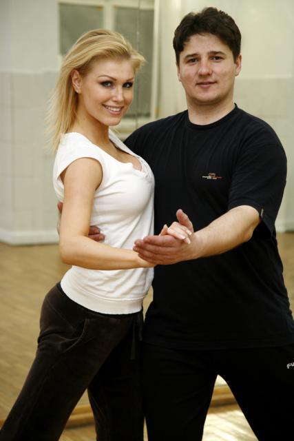 Cristina Rus şi Mihai Botezat la repetiţii