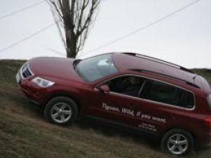 VW Tiguan, agil şi sigur şi pe teren accidentat