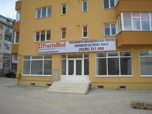 Sediul Clinicii PROCTOMED din Suceava