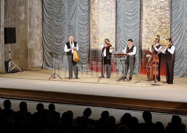 """Cultural: Bucovina, """"cântată"""" de maestrul Tudor Gheorghe"""